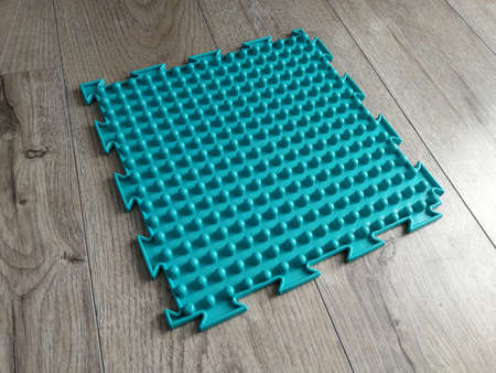 Orthopedic medical massage carpet for feet therapy Zdjęcie Seryjne