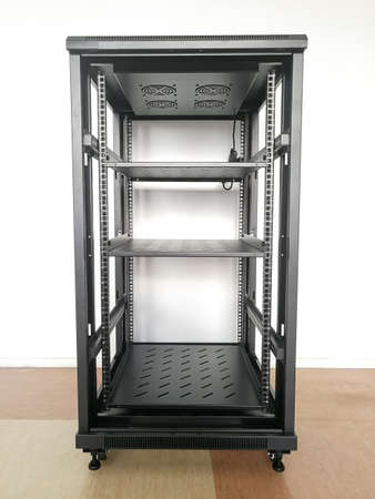 19'' industrial rack (19-inch rack) for telecommunication equipment or servers