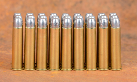 Loaded cartridges. 45-70 Govt. 405 Grain Flat Nose Bullet. The 45-70 Government cartridge was developed in in 1873.