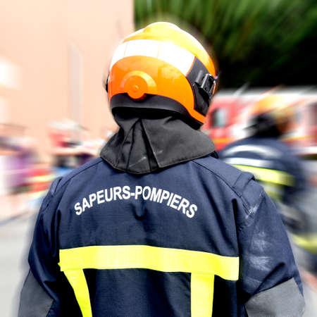 Fire department Banque d'images