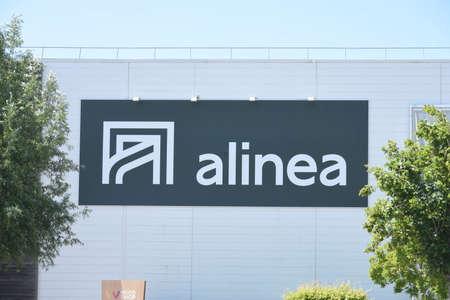 alinea signboard