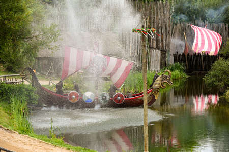 medieval show in puy du fou