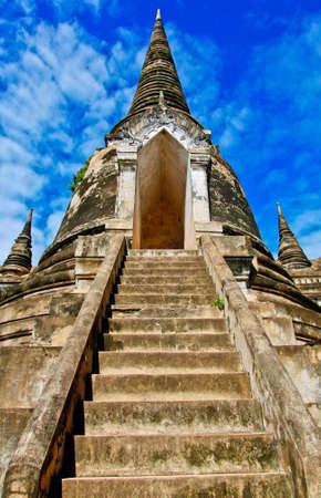 ayuttaya: temple of ayuttaya thailand Stock Photo