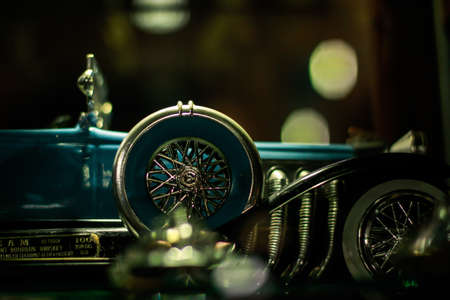 wheel of the old luxury car Stock Photo - 16218235
