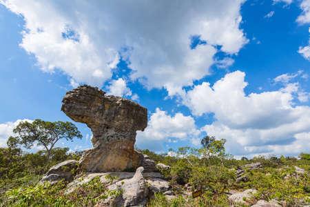 stonehenge at chaiyapum in thailand photo