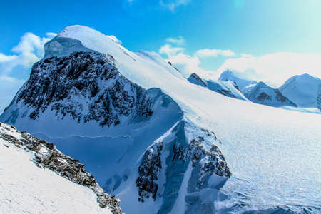 ice mountain: the top of ice mountain