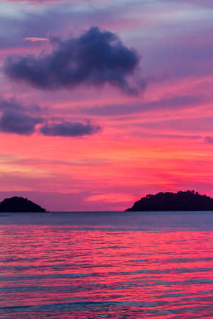 georges: the lighting of sunset in thailand