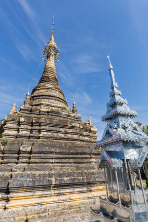 thailand temple: the pagoda in thailand temple