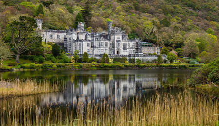 the kylemore abbey in ireland