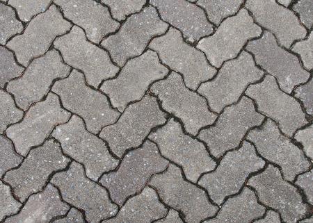 bloque de hormigon: Pisos de bloques de hormig�n