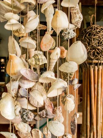 Seashell  string curtain photo