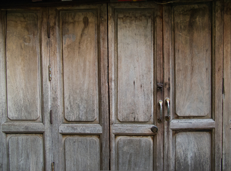 Rustic timber door photo & Rustic Rivets On Old Timber Door Stock Photo Picture And Royalty ... Pezcame.Com