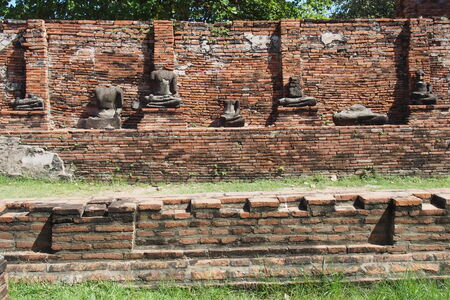 archaeological site: Buddha remains at the archaeological site in Thailand