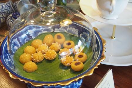 sweetmeat: Yellow Thai sweetmeat