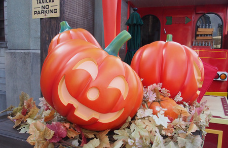 pumpkin for Halloween decoration