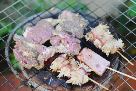 parch: Grilled meat BBQ