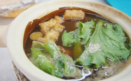 pork rib: Special Chinese pork rib soup made from a lot of Chinese herb Archivio Fotografico