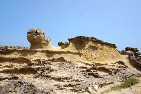 features: geography features in Yehliu Geopark, Taiwan