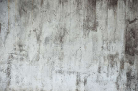 stain: dirty stain on white wall texture Stock Photo