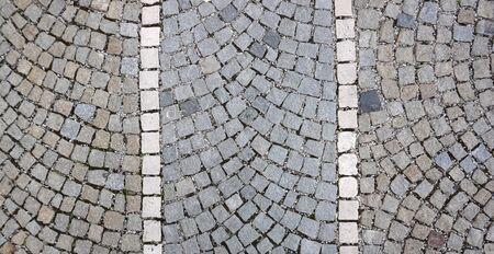 cobblestone: walkway with cobblestone texture