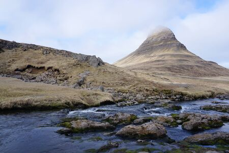 watercourse: watercourse at Kirkjufell in Iceland