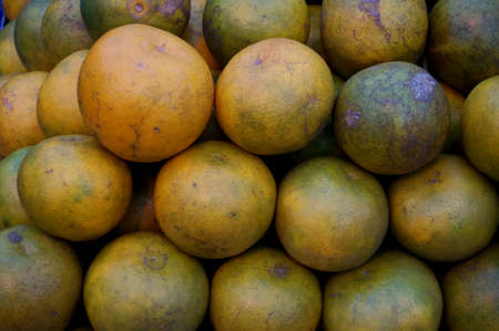 Close up of photo of very fresh oranges background