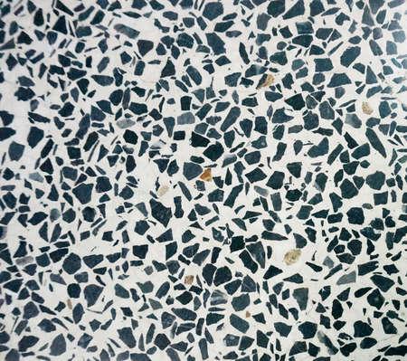 Terrazzo floor texture and background Imagens