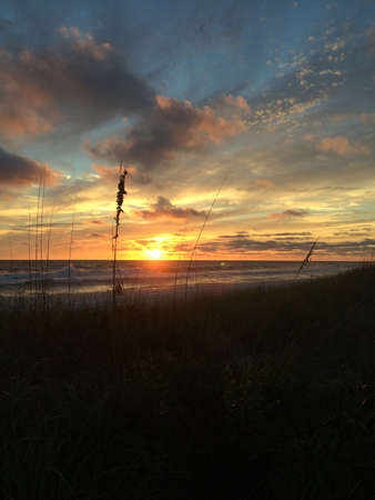 gulf of mexico: Sunset over the Gulf of Mexico.