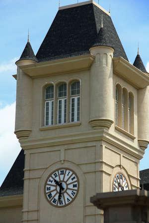 Clock tower photo