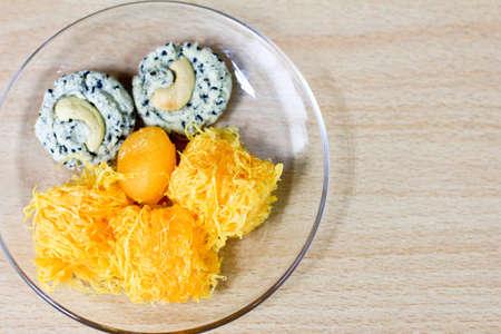 Dessert thai Stock Photo