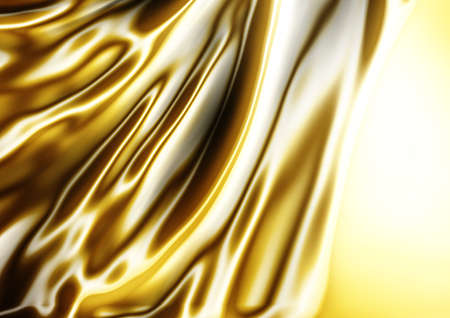 satiny cloth: abstract texture of gold silk for fabric cloth background