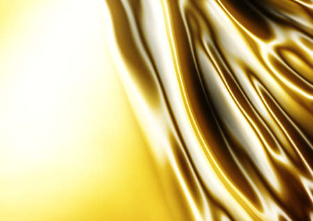 silky velvet: abstract texture of gold silk for fabric cloth background