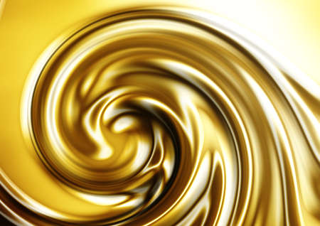 gold and red: abstract texture of gold silk for fabric cloth background