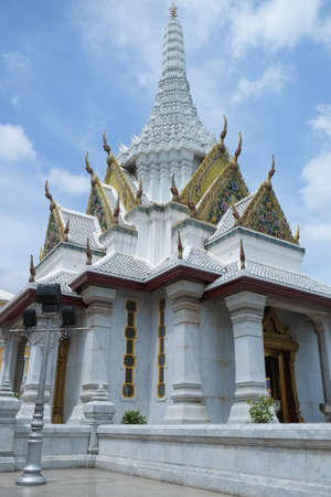Ancient Thai temple in Bangkok Thailand Reklamní fotografie