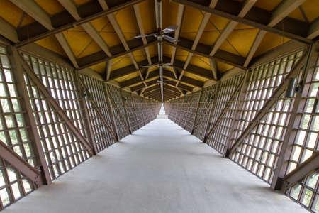A bridge at House on the rock in Wisconsin Reklamní fotografie