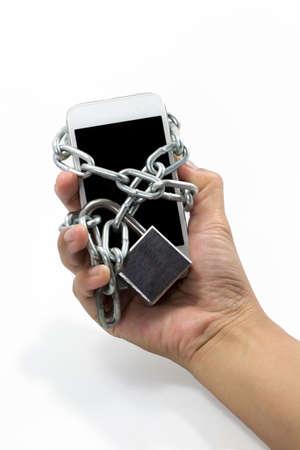 smart phone chain photo