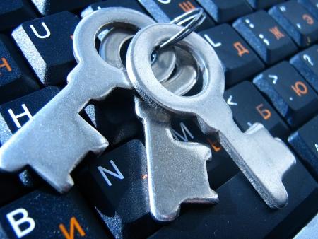 plainness: Keys on the keyboard