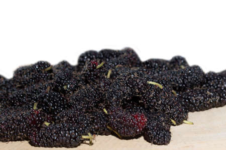 Take a closer look at the mulberry. Stok Fotoğraf
