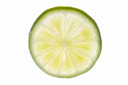 Lime white background Imagens