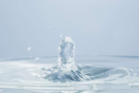 Waves and water drops