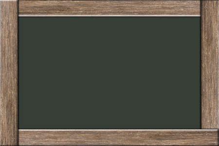 Blackboard wood chalk scene
