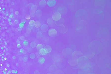 Abstract Bokeh Circle Purple Background