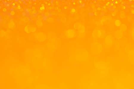 Abstract Bokeh Circle Orange Background Reklamní fotografie