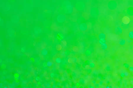 Abstract Bokeh Circle Green Background