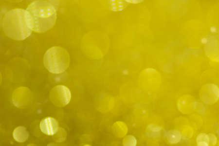 Abstract Bokeh Circle Yellow Background