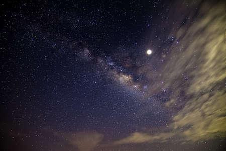 Milky Way in the night sky Reklamní fotografie