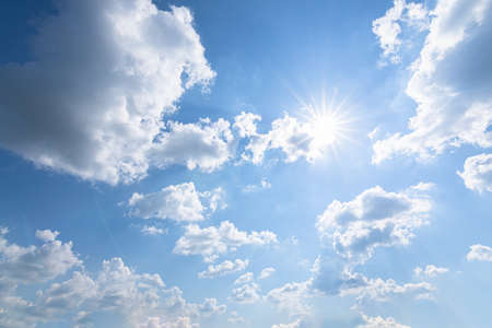 Shoot wide-angle, sky and clouds and daytime sunlight.