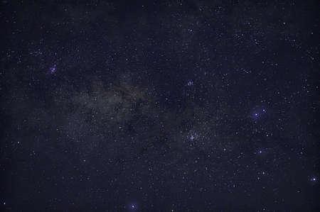 sky stars night milky way Stock fotó