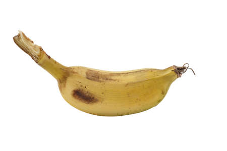 bannana: A bannana on white background