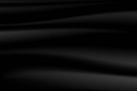 Minimal Black Silky Flag Texture Vector Background
